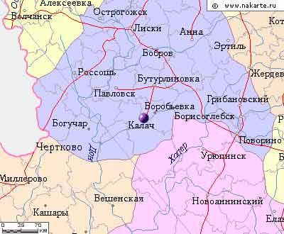 город Калач на Дону.